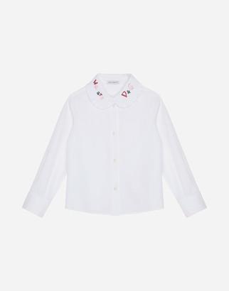 Dolce & Gabbana Poplin Shirt