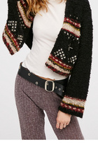 ADA Collection for Free People Womens REMI GROMMET BELT