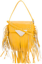 Sara Battaglia Cutie crossbody bag - women - Calf Leather/Polyester - One Size