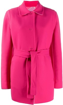 Emilio Pucci belted single breasted coat