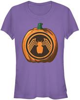 Fifth Sun Women's Tee Shirts PURPLE - Venom Purple Pumpkin Tee - Women & Juniors