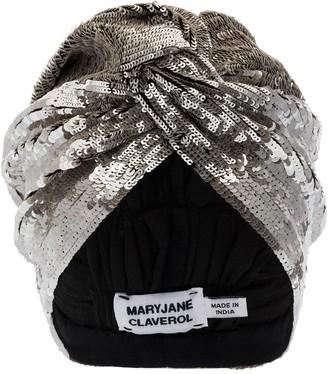 MaryJane Claverol Adele taupe sequin headband
