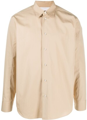 Jil Sander Long Sleeved Cotton Shirt