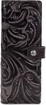 Patricia Nash Tooled Black Marotta Business Credit Card Holder