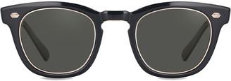 Mr. Leight Hanalei S Bkglss-12kwg/la Sunglasses