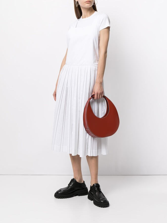 Casey Casey Pleated Pinafore Dress