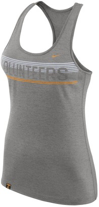 Nike Women's Gray Tennessee Volunteers Touch Performance Racerback Tank Top