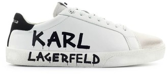 Karl Lagerfeld Paris Skool White Sneaker