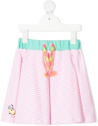 Billieblush striped A-line skirt