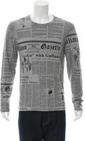 John Galliano Graphic Print T-Shirt