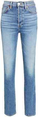 RE/DONE 80s Slim Straight-Leg Jeans