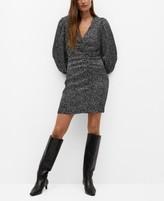 Thumbnail for your product : MANGO Women's Print Draped Dress