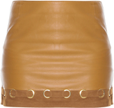 Derek Lam 10 Crosby Leather Mini Skirt