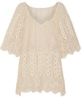 Eberjey Sun Warrior Gianna Crocheted Cotton Coverup