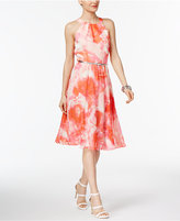 INC International Concepts Printed A-Line Dress, Only at Macy's