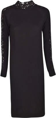 Fendi Embroidered Long Dress