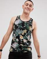 ONLY & SONS Tank With All Over Floral Print