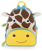 "Skip Hop SkipHop 11"" Zoopack Giraffe Kids Backpack - Yellow"