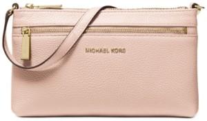 Michael Kors Michael Jet Set Leather Wristlet