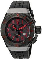 Swiss Legend Men's 'Trimix Diver 2.0' Swiss Quartz Stainless Steel Automatic Watch (Model: 13842-BB-01-RDA)
