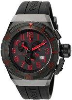 Swiss Legend Men's 'Trimix Diver 2.0' Swiss Quartz Stainless Steel Watch (Model: 13842-BB-01-RDA)