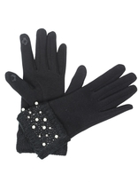Victoria Leland Designs Pearl Texting Gloves