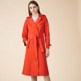 Maje Cotton trench coat