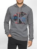 Calvin Klein Vintage Logo Hooded Sweatshirt