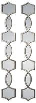 Uttermost 'Vizela' Metal Wall Mirrors