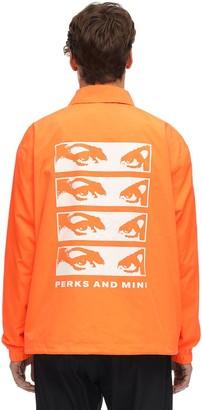 Pam   Perks And Mini View Coach Nylon Jacket