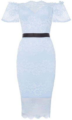Bardot Sistaglam loves Jessica bodycon dress with bow detail