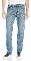 UNIONBAY Men's Foster 5 Pocket Straight Denim Jean