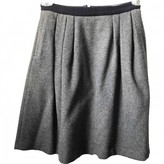 Parker Chinti & Grey Wool Skirt for Women