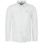 Tommy Hilfiger Tommy HilfigerBoys White Tree Print Shirt