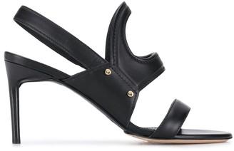 Max Mara Slingback Strap Sandals