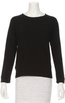 Monrow French Terry Raglan Sweatshirt