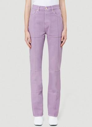 Jacquemus Straight Leg Jeans