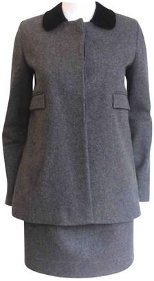 Charles Anastase Grey Wool Jacket for Women