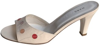 Marc Jacobs Beige Leather Sandals