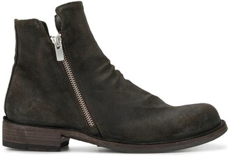 Officine Creative Legrand Hunter ankle boots