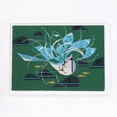 west elm Charley Harper Tapestry Wall Art - Blue Jay Bathing