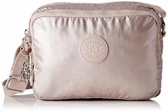 Kipling Silen Women's Shoulder Bag 24 x 18 x 11 cm Grey Size: One size