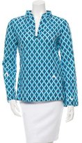 Tory Burch Embellished Long Sleeve Top