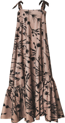 Andres Otalora Amaranto Sleeveless Maxi Dress