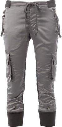 Greg Lauren cargo cropped trousers