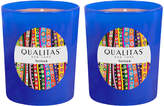 Qualitas Candles Vetiver Beeswax Candles (Set of 2) (6.5 OZ)