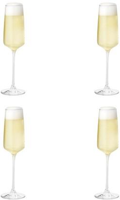 Alex Liddy Vina Limited 4 Piece Champagne Flute Set 250ml