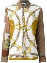 P.A.R.O.S.H. chain print shirt