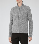 Reiss Bear Mottled Weave Jacket
