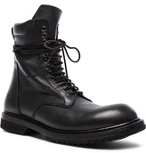 Rick Owens Low Leather Army Boots